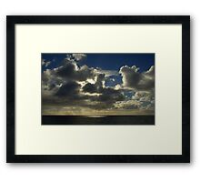 View of Gulf St. Vincent from Hallett Cove Framed Print