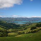 Akaroa Bay, Banks Peninsular by John Dalkin