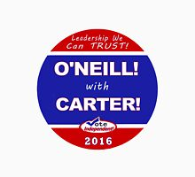 O'Neill - Carter for President Women's Fitted V-Neck T-Shirt