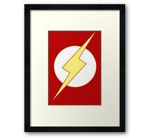 Simplistic Flash 2 Framed Print