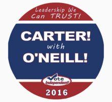 Carter - O'Neill for President Kids Tee