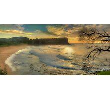 Morning Blessing - Avalon Headland, Sydney Australia - THe HDR EXperience Photographic Print