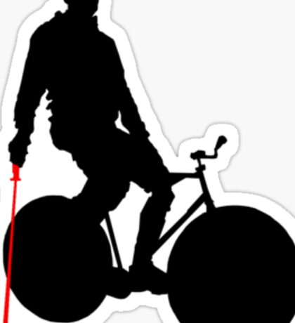 This is how I play polo (fixed gear). Sticker