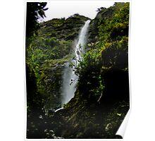 El Chorro Waterfall of Giron III Poster