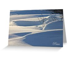 Drifting (holiday greeting card) Greeting Card