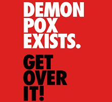 Demon Pox Exists Womens Fitted T-Shirt