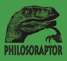 Philosoraptor by ExplodingZombie