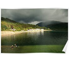 Inverie basking in the sunshine Poster