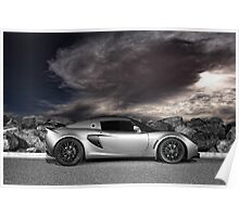 Exige - painted with light - 1 of 2 Poster