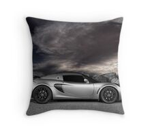 Exige - painted with light - 1 of 2 Throw Pillow