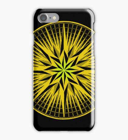 aztika gold mandala iPhone case iPhone Case/Skin