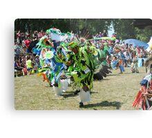 Colorful Parade Metal Print