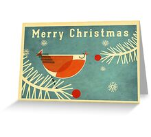 Robin 3 Greeting Card