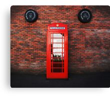 Old Bushmills Telephone Box Canvas Print