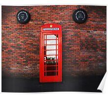 Old Bushmills Telephone Box Poster
