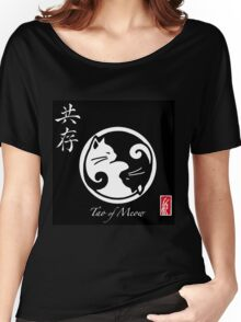 Tao of Meow Dark T-Shirt Women's Relaxed Fit T-Shirt