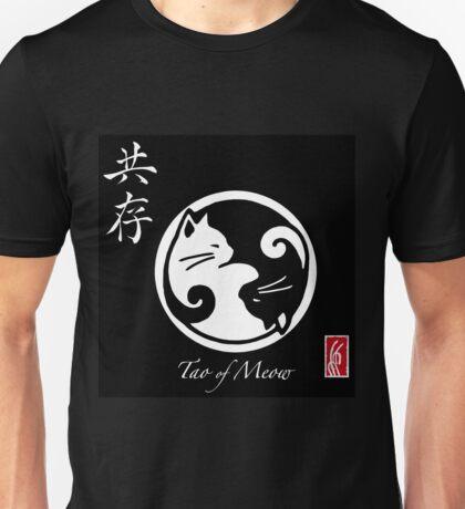 Tao of Meow Dark T-Shirt Unisex T-Shirt