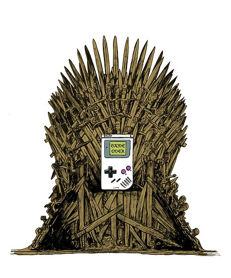 Game on Throne by Damien Thomasz