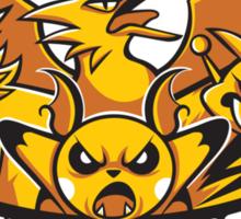 Team ThunderShocks Sticker