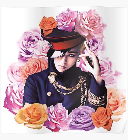 GD n Roses Poster