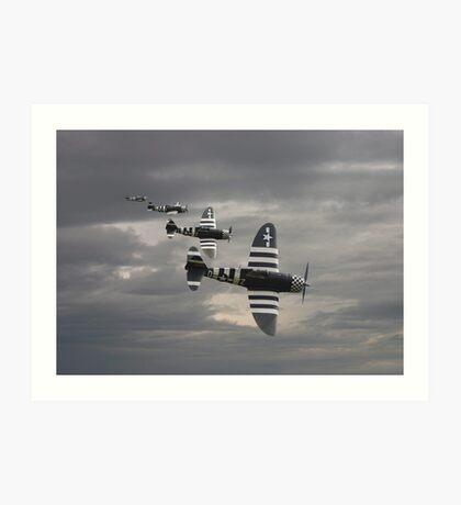 P47 Thunderbolt  -  'Cab Rank' Art Print