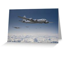 B29-Superfortress Greeting Card