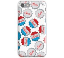 Vintage Soda Bottle Cap iPhone Case/Skin
