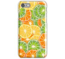Orange, Lemon and Limes iPhone Case/Skin