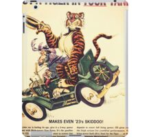put a tiger in your tank iPad Case/Skin