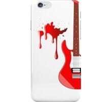 Blood Guitar iPhone Case/Skin