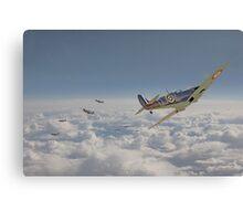 Spitfire - September odds Canvas Print