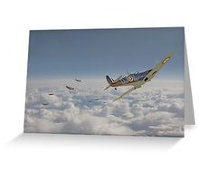 Spitfire - September odds Greeting Card