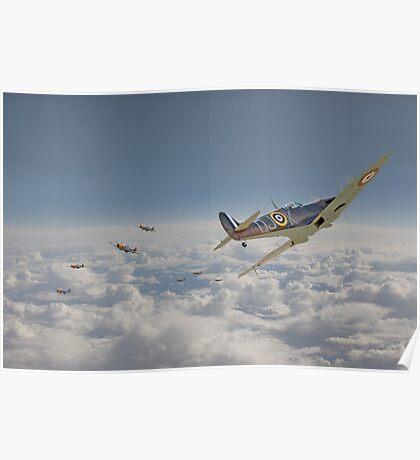 Spitfire - September odds Poster