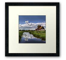 Thomas a Beckett Church, Romney Marsh Framed Print