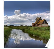 Thomas a Beckett Church, Romney Marsh Poster