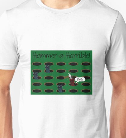 Hammer-a-Horrible Unisex T-Shirt