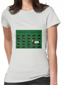Hammer-a-Horrible Womens Fitted T-Shirt