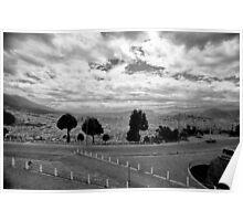 Panoramic view of Quito, Ecuador Poster