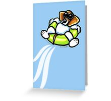 Cool Dog Beagle Greeting Card