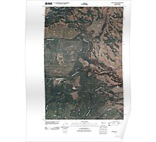 USGS Topo Map Washington State WA Camas Patch 20110502 TM Poster