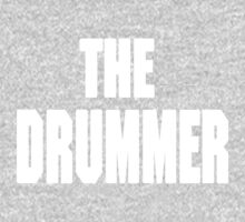 THE DRUMMER (DAVE GROHL / TAYLOR HAWKINS) WHITE Kids Tee