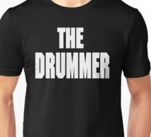 THE DRUMMER (DAVE GROHL / TAYLOR HAWKINS) WHITE Unisex T-Shirt