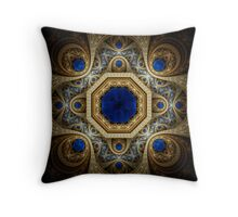 Royal Sapphire Throw Pillow