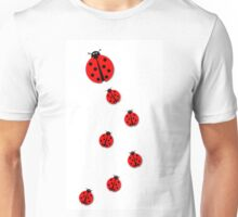 Many Ladybugs Unisex T-Shirt
