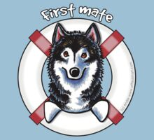Alaskan Malamute :: First Mate by offleashart