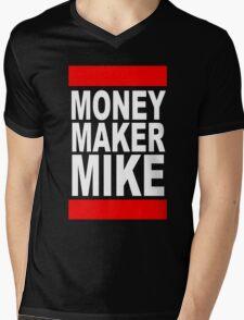 Money Maker Mike Mens V-Neck T-Shirt