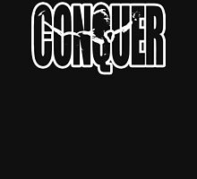 CONQUER - Arnold Schwarzenegger Motivation T-Shirt