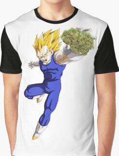 vegeta weed Graphic T-Shirt