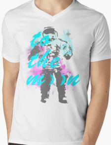 Moon-o Mens V-Neck T-Shirt