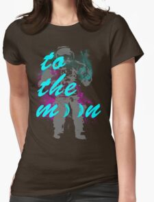 Moon-o Womens Fitted T-Shirt